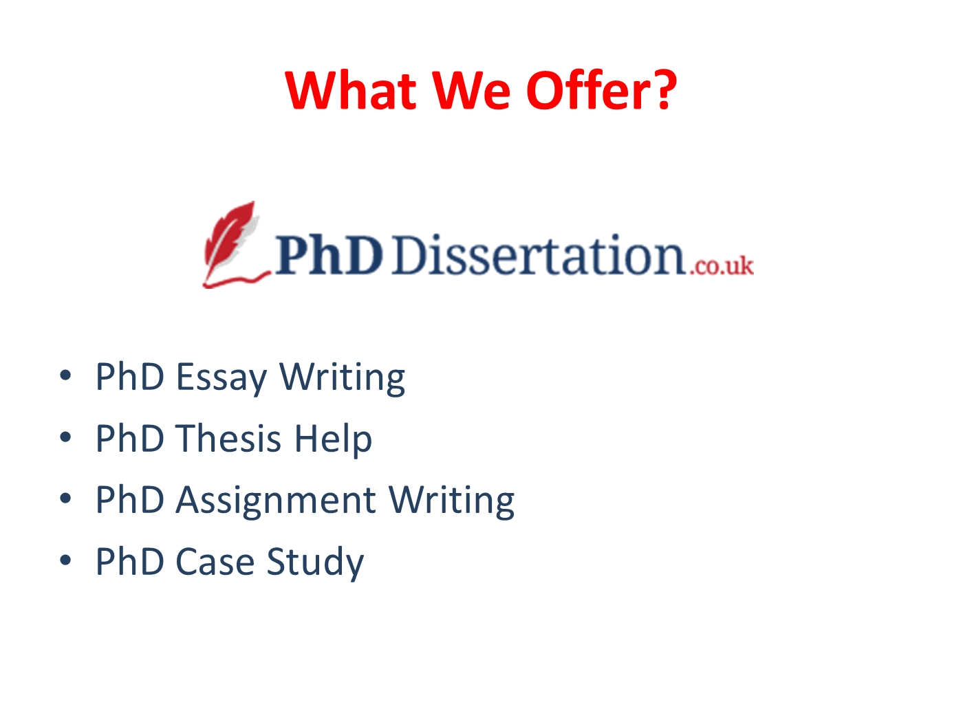 What is a phd essay