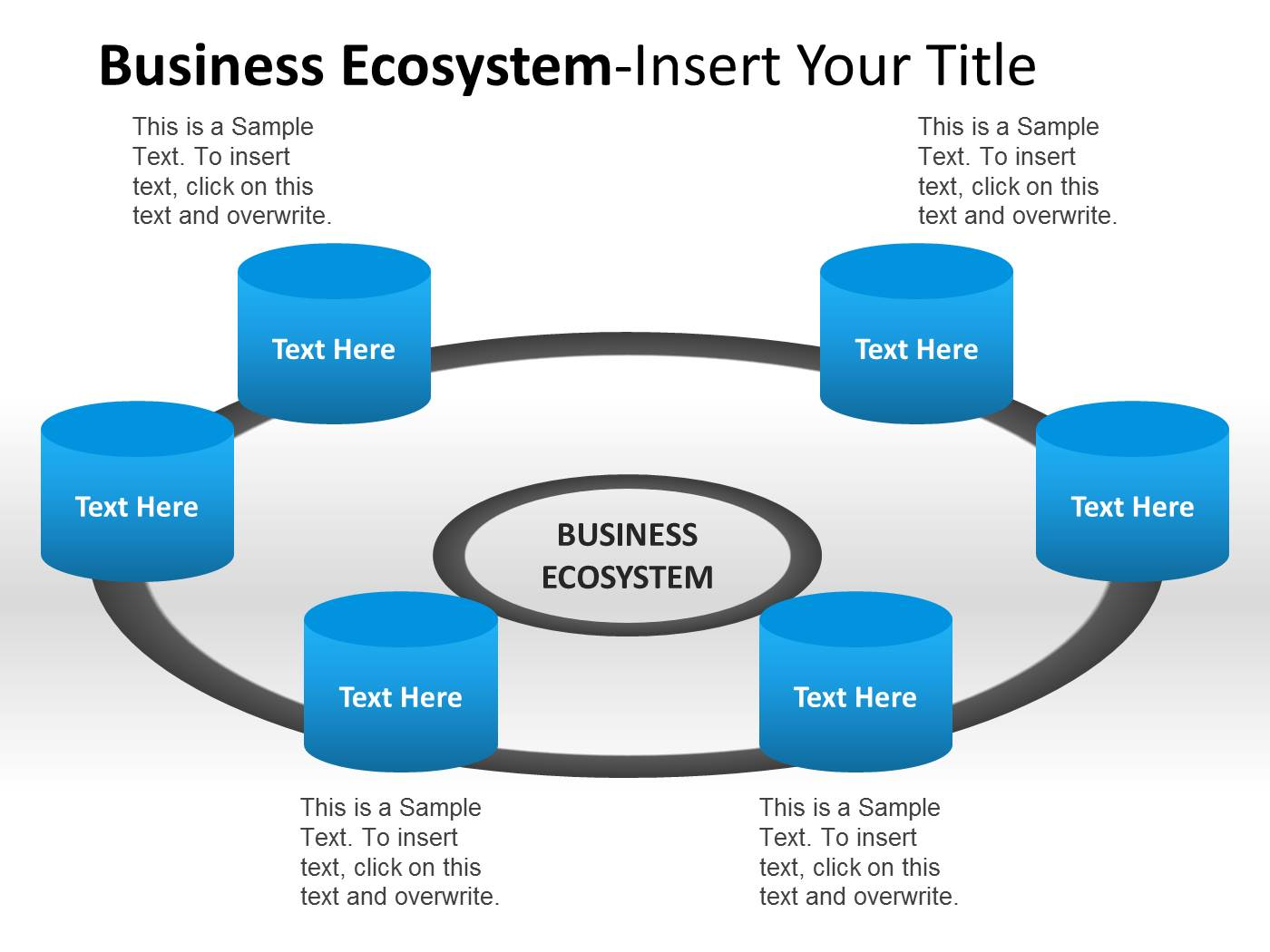 Business ecosystem actors powerpoint template powerpoint embed pooptronica Image collections