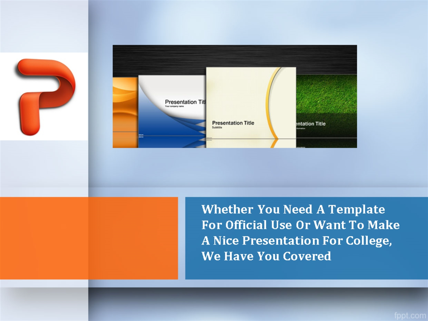 fppt powerpoint templates image collections - templates example, Powerpoint templates