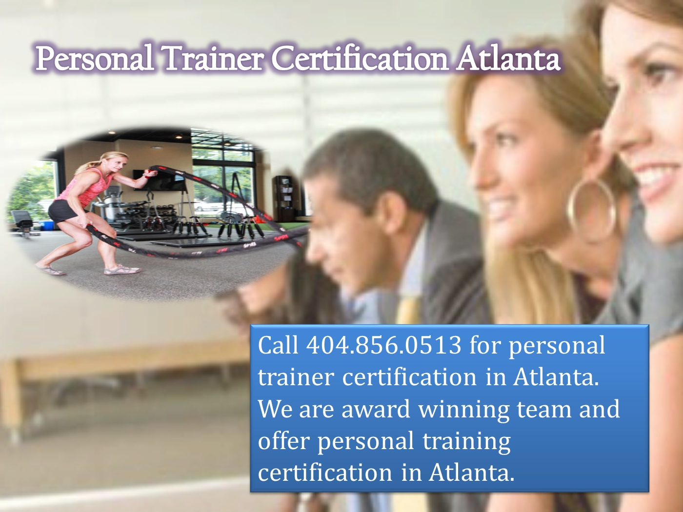 Personal trainer certification atlanta powerpoint presentation ppt embed xflitez Images