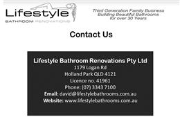Bathroom Renovations Logan lifestyle bathroom renovations present lavish bathroom renovation