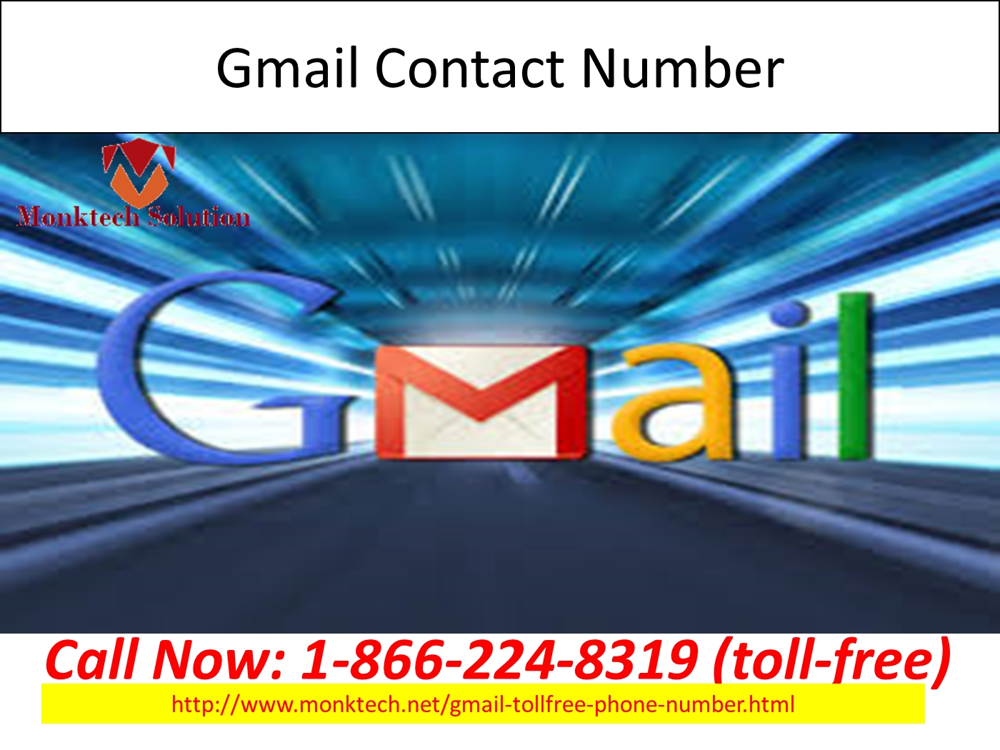 Gmail ppt theme - Gmail Toll Free Number 1 866 224 8319 Toll Free For Change Your Account Theme Powerpoint Presentation Ppt