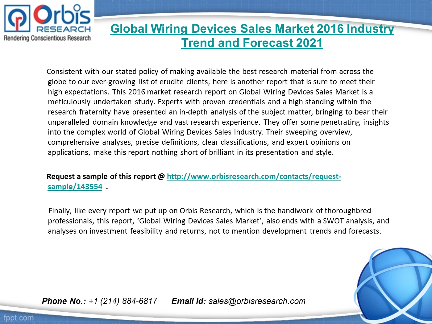 global wiring devices sales industry 2016 revenue market share rh slideonline com wiring devices market in india wiring devices market size