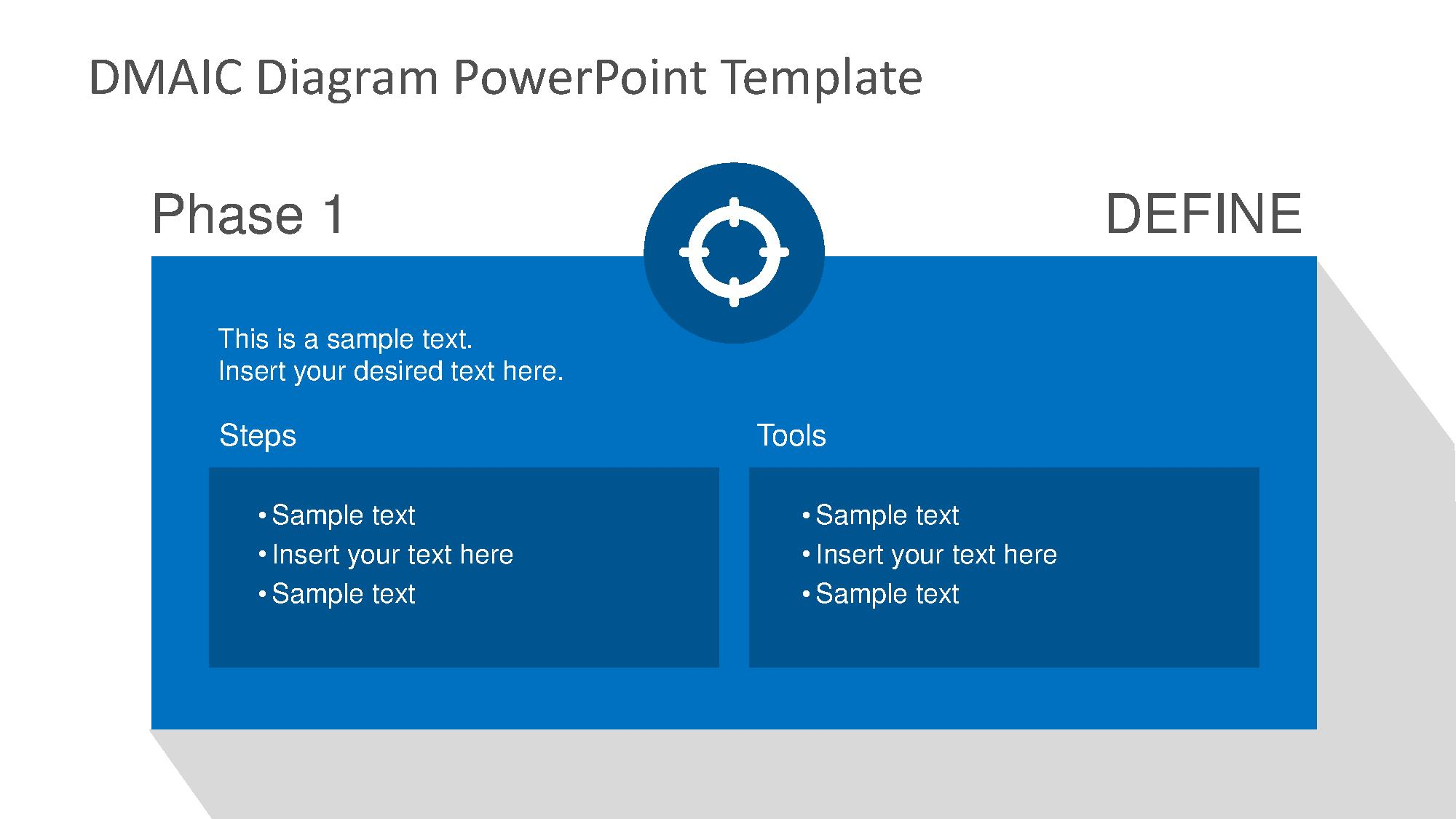dmaic powerpoint template powerpoint presentation ppt, Powerpoint templates