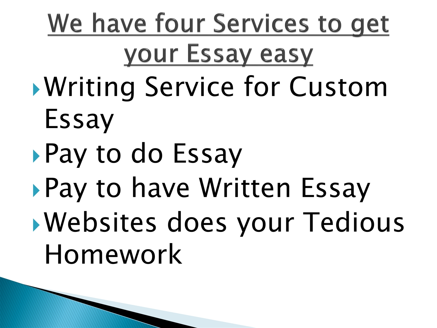 Booth MBA Essay PowerPoint Presentation fxMBAConsulting Booth MBA Essay  PowerPoint Presentation Writing an argument essay powerpoint Contracting  political